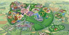 Disneyland Paris Resort map